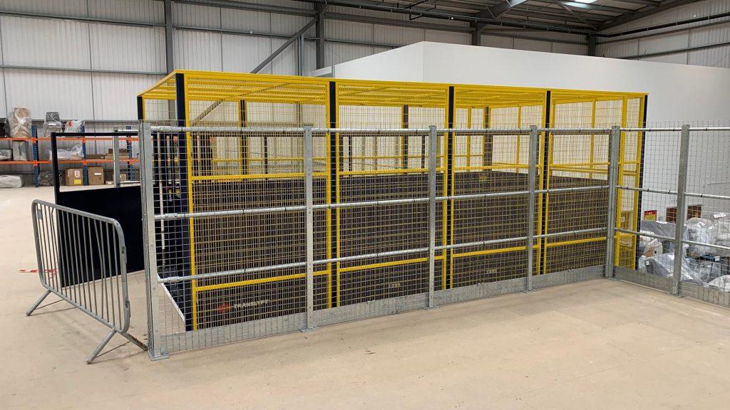 Lift Enclosure Cages Banner